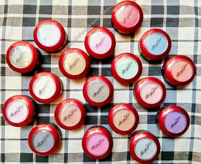 Odho Cosmetics APSE Eyeshadows.